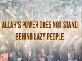 Allah\\\'s Power Does Not Stand Behind Lazy People | Imam Sayyid Ali Khamenei | Farsi sub English