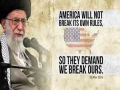 America will not break its own rules, so they demand we break ours | Leader of the Muslim Ummah | Farsi sub English