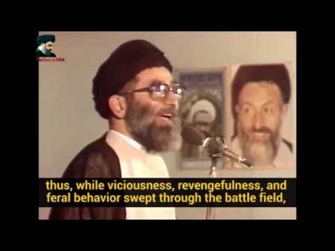 Sayyed Ali Khamenei - Moments After the Death of Imam Hussein (A) - Farsi sub English