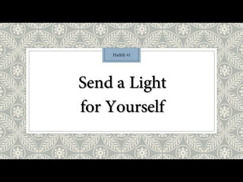 Send a Light Ahead for Yourself - English