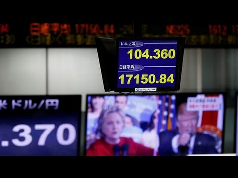 [09 November 2016] Trump\'s presidential victory shakes global markets | Press TV English