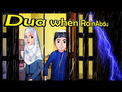 Abdul Bari Muslims Islamic Cartoon for children -When the Monsoon startedn- English