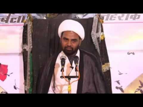 Ek badi musibat imam hussain pe aashure se pahle - Moulana Akhtar Abbas Jaun - Urdu