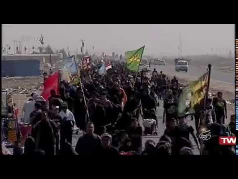 40 - پیاده روی اربعین الرمیثه - ۲۰۱ کیلومتر تا کربلا - بخش ۳ - Farsi