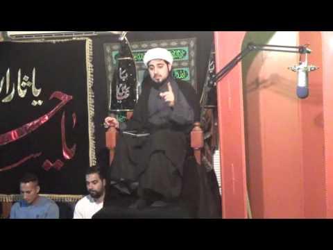[5] Shaykh Mahdi Rastani  Muharram 1438/2016 IEC - San Antonio USA - English