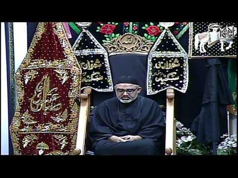 [1] Moulana Ali Murtaza Zaidi - 12 Safar 1438 AH - November 12, 2016 IEC of Houston Urdu