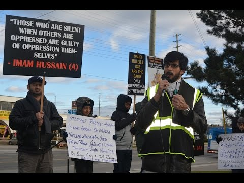 Resolution Presented by Shia Muslim Protesters to Consulate General of Pakistan Toronto Nov 2016 - English