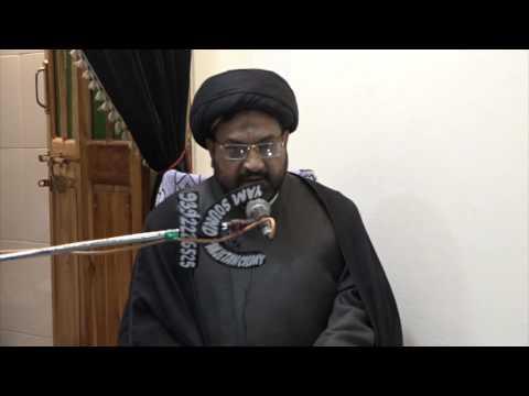 [01] Dua-e-Makarim ul-Akhlaaq - 23rd Muharram 1438 A.H - Moulana Syed Taqi Raza Abedi