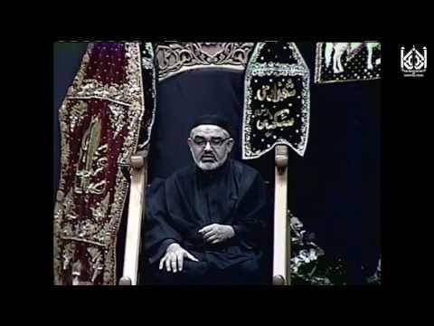 [3] Moulana Ali Murtaza Zaidi - Safar 1438 - November 14, 2016,IEC Houston USA Urdu