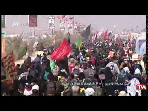 65 - پیاده روی اربعین - مدینه الزائرین - ۲۰ کیلومتر تا کربلا - بخش ۲ - Fa