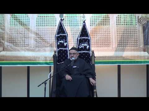 [9] Maulana Syed Ali Murtaza Zaidi - Arbaeen Juloos 1438AH, Nov. 20th, 2016 IEC Houston USA, Urdu