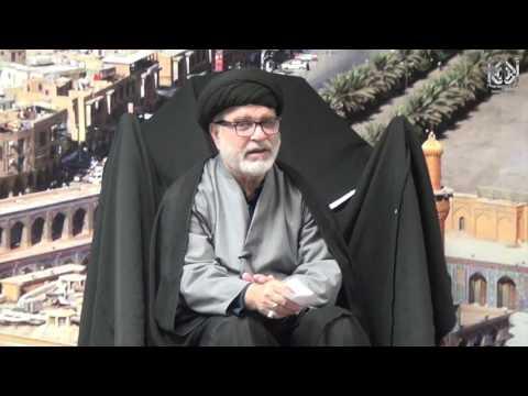 [4] Maulana Ehtesham Abbas - Rabi\\'al Awal 1438 AH - December 4, 2016 IEC Houston, USA | Urdu