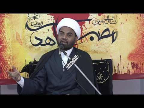 [03] Sulh Aur Jung Islam Ki Nazar Me - 23 Safar 1438 - Moulana Akhtar Abbas Jaun - Urdu