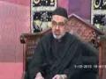 1st Majlis Moharram 1435 Hijari 2013 By Moulana Ali Murtaza Zaidi Imam Bargah Jamia Al-Sadiq as G-9/2 Islamabad - Urdu