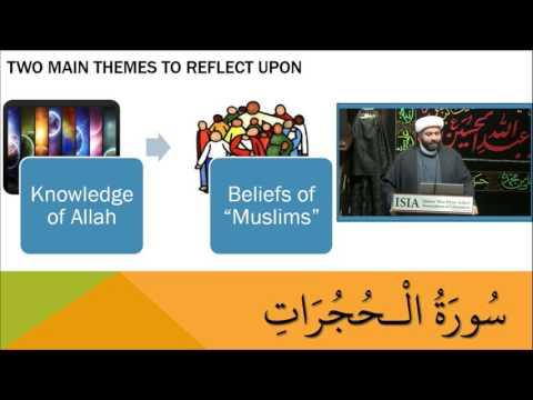 Commentary of Surah Al-Hujurat - 12 - English