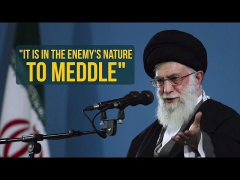 It\\\\'s In The Enemy\\\\'s Nature To Meddle | Imam Sayyid Ali Khamenei | Farsi sub English