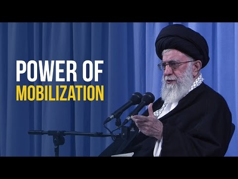 Power of Mobilization | Leader of the Islamic Revolution | Farsi sub English