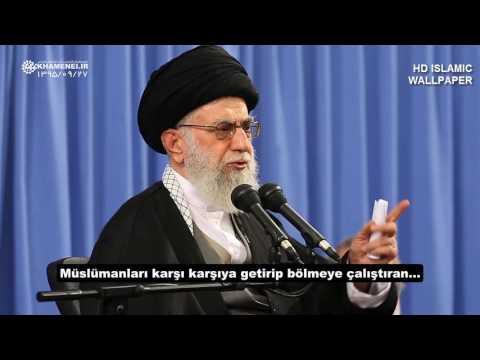 İmam Hamaney: İngiliz Şiiliği ve Amerikan Sünniliği bir makasın iki kolu gibidir - Farsi sub Turkish