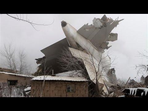 [16 Jan 2016] Dozens die as cargo jet crashes near Bishek - English
