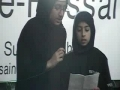 Hussain Day - Noha  Meri Sakina  by Fatima Haider & Fizza Malik - Urdu