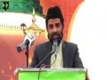 [Youm e Mustafa (saww)] Speech: Janab Asad Zaidi | 1438/2017 - Karachi University - Urdu