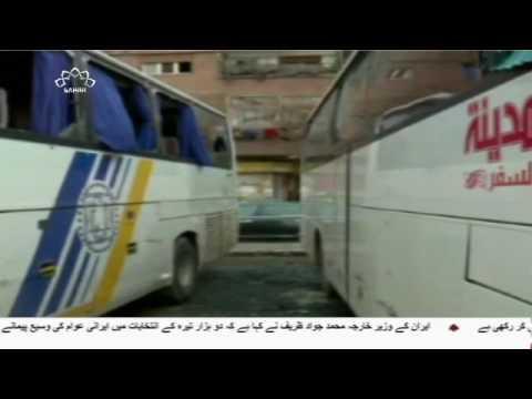 [11 March 2017] دمشق میں دہشت گردانہ بم دھماکے دسیوں زائرین شہید اور زخمی