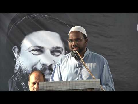 [Seminar] Shaheed-e-Khamis (r) - 9th April 2017 - Moulana Mohammed Abbas Masood - Urdu