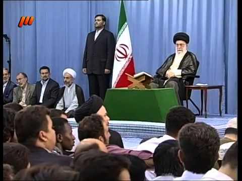تلاوت قرآن در حضور مقام معظم رهبری - Farsi