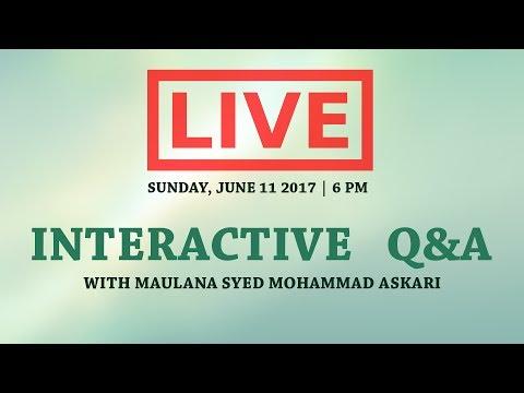 [Day 15 ] Mah e Ramadhan 1438 | Topic:Dua Makarimul Akhlaq (The Honorable Morals) | Maulana Muhammad Askari - Ur