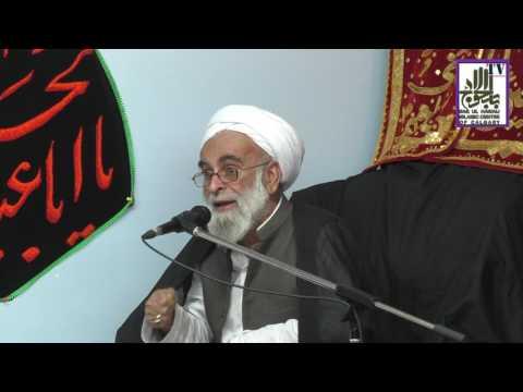 [Ramazan 1438/2017  Lecture - 11] Spk : H.I Allama Haider Ali Jawwadi - Urdu