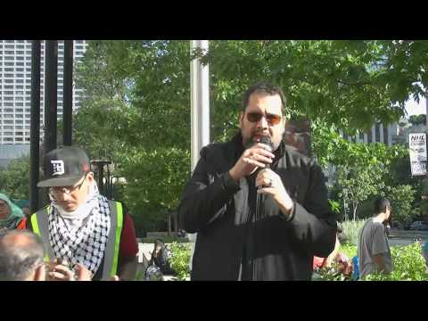 Moulana Asad Jafri at Toronto Al-Quds Day Rally 2017