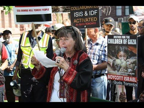 Sister Karin Brothers at Toronto Al-Quds Day Rally 2017