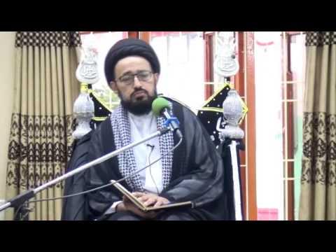 [Majlis] Topic: Moula Ali (as) Ke Aakheri Wasiyat - H.I Sadiq Raza Taqvi - Urdu