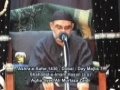 Ashra-e-Safar 1430 - Day 7 Shahadat-e-Imam Hasan a.s - Agha Syed Ali Murtaza Zaidi - Urdu