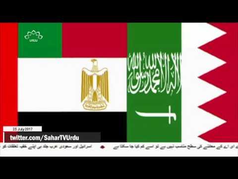 [25Jul2017] باہمی احترام کی بنیاد پر ہی مذاکرات ممکن ہیں :قطر  - Urdu