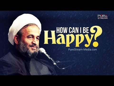 How can I be Happy? | Agha Alireza Panahian | Farsi sub English