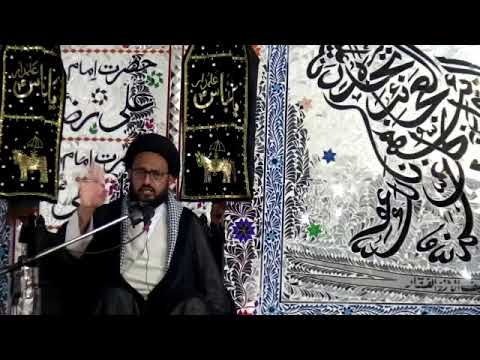 [Majlis] Topic Imam Taqi (a.s) kay Kalam May Nijaat ke Raahain - H.I Sadiq Raza Taqvi - Urdu