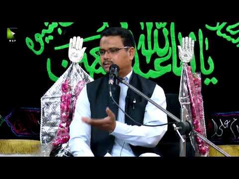 [03] Topic: Momin Ke Baseerat Or Maarfat | Professor Zahid Ali Zahidi - Muharram 1439/2017 - Urdu