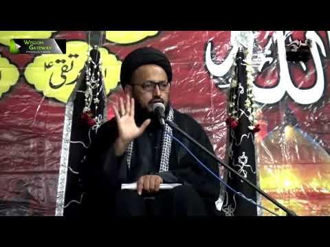 [02] Topic: Aakhir-uz-Zamaan k Mutaliq Imam Ali Ke Peshan Goiyaan | H.I Sadiq Taqvi - Muharram 1439/2017 - Urdu