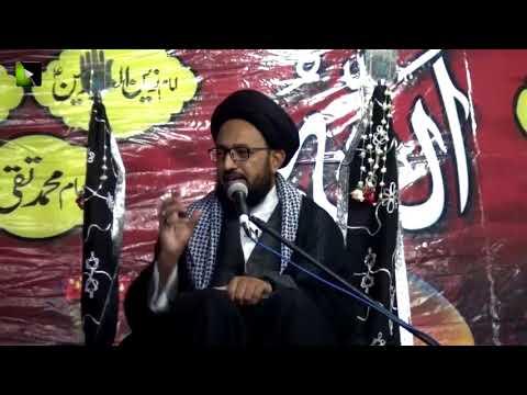 [06] Topic: Aakhir-uz-Zamaan k Mutaliq Imam Ali Ke Peshan Goiyaan | H.I Sadiq Taqvi - Muharram 1439/2017 - Urdu