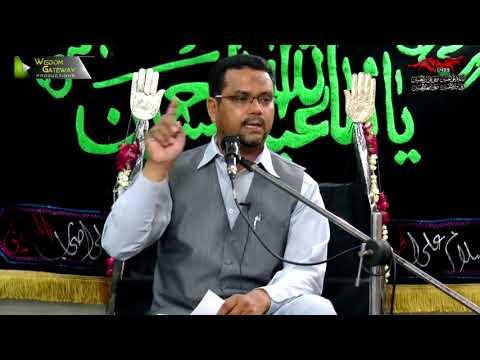 [06] Topic: Momin Ke Baseerat Or Maarfat | Professor Zahid Ali Zahidi - Muharram 1439/2017 - Urdu