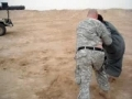 Soldier gets tossed by an Iraqi while wrestling - All languages
