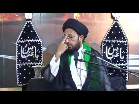 [03] Topic: Surah Al-Asr Or Tahreek-e-Imam Hussain (as) | H.I Sadiq Taqvi - Muharram 1439/2017 - Urdu