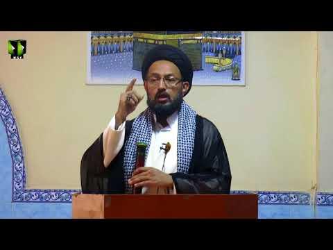 [ Friday Sermon ] 06 October 2017 | H.I Sadiq Raza Taqvi | Masjid Khoja Asna Ashari Karachi - Urdu