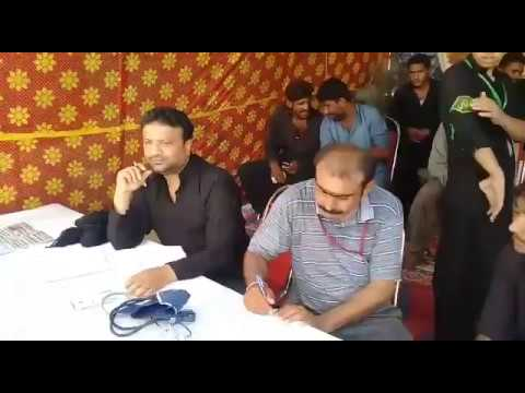 [2nd Blood Donation Drive By Asgharia] Blood Camp at Larkana-II