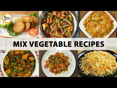 Mix Vegetable Recipes by Food Fusion - All Languages