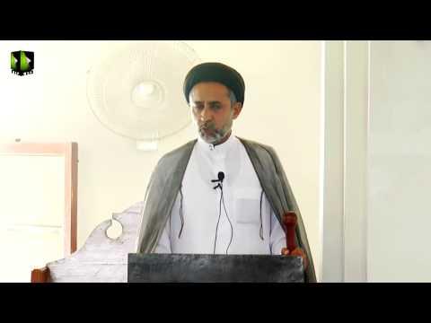 [ Friday Sermon ] 13 October 2017 | H.I Muhammad Haider Naqvi - Masjid Yasrab Karachi - Urdu