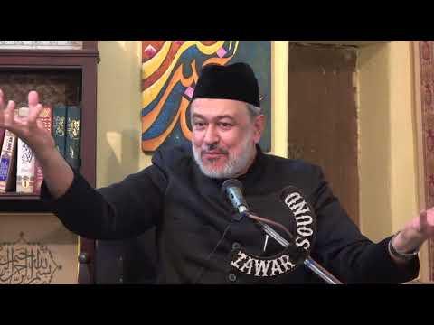 [08] Hidayat-e-Elahi ki Bunyadein | 8th Muharram 1439 | Moulana Agha Mujahid Hussain - Urdu