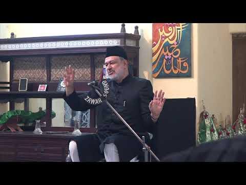 [09 Last] Hidayat-e-Elahi ki Bunyadein | 9th Muharram 1439 | Moulana Agha Mujahid Hussain - Urdu