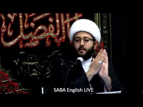 [Night 4] Shaykh Amin Rastani - SABA Center Muharram 2017 - English
